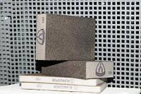 Губки шлифовальные ТМ KLINGSPOR Брусок шлифовальный SK 500 Klingspor, эластичный, четырехсторонняя насыпка р80