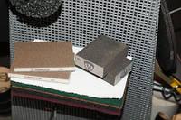 Губки шлифовальные Брусок шлифовальный SK 500 Klingspor, эластичный, четырехсторонняя насыпка р120