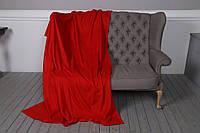 Плед из флиса Красный 200*150 см