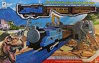Поезд Динозавров Двухуровневый с дорогой восьмеркой
