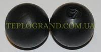 Ручка-шар к дверце котла 25 мм (внутренняя резьба M10)