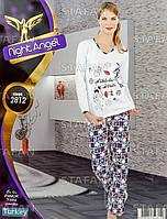 Женская домашняя одежда из Турции Night Angel 2812-R. Размер 44-46.