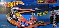 Трек Hot Speed с трассой для двух машинок
