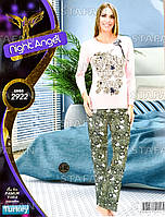 Женская домашняя одежда из Турции Night Angel 2922-R. Размер 46-48.