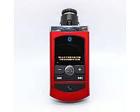 Трансмиттер для авто BT-06, Bluetooth, ЖК дисплей, FM 87,5-108 мГц, поддержка карт памяти SD, MMC
