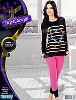 Женская домашняя одежда из Турции Night Angel 2836-R. Размер 46-48.