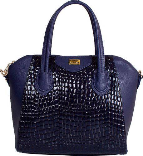 Великолепная женская сумка из качественного кожзама ETERNO ETMS35255-6 синий