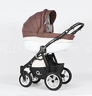 Детская универсальная коляска 2 в 1 VERDI AVENIR 01 W, кофе/беж