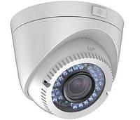 Купольная Turbo HD камера Hikvision DS-2CE56D5T-IR3Z, 2 Мп трансфокальная