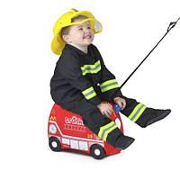 Чемодан детский на колесах Frank Fireman Trunki TRU0254