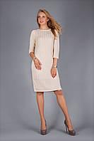 Теплое платье из фактурным узором, фото 1