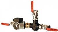 Трехходовой клапан Laddomat 11-100 53 °C (для котлов до 120 кВт)