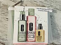 CLINIQUE 3-Ступенчатая Система ухода за комбинированной-жирной кожей