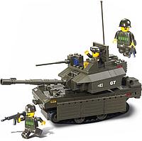 """Конструктор SLUBAN """"Вооруженные силы: Танк Центурион МК12"""" 215 дет M38-B0287"""
