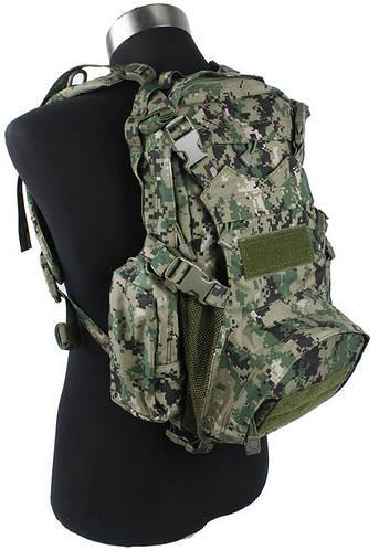 Лёгкий практичный рюкзак TMC MOLLE Kangaroo Pack AOR2, TMC1461 (Пиксельный камуфляж)