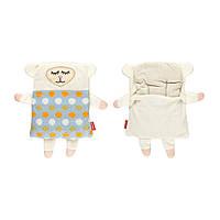 Мягкая игрушка - грелка SOXO овечка в подарочной упаковке
