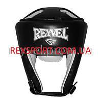 Шлем боксёрский REYVEL винил тип 2 Черный размер М