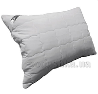 Подушка Руно Grey стеганая с серебристым кантом антиаллергенная 50х70 см (310.52GREY)