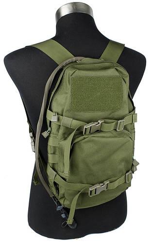 Компактный рюкзак 10 л. с гидратором TMC Modular Assault Pack w 3L Hydration Bag OD, EB00229 (Оливковый)
