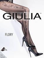 Колготки женские с узором FLORY 40 (9)