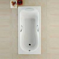 Чугунная ванна ROCA HAITI 2000 170*80 в комплекте с ручками с ножками