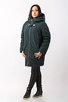Стильная женская куртка больших размеров (рр 50-60) Зима 2017, разные цвета