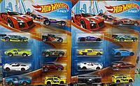 Набор машинок 9 штук Hot Wheels из США Разные наборы