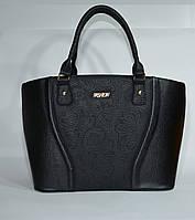 Стильная сумка женская к/з черная Украина