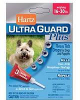 Hartz (Харц) Капли против блох и клещей для собак и щенков 4в1 (7-13 кг)