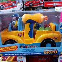 Детская машина конструктор с музыкальными эффектами 786