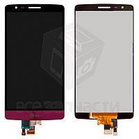 Дисплей для мобильного телефона LG G3s D724, красный, с сенсорным экраном