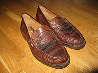 Туфли CENTURY кожаные, 40р, 25,5 см, сост ОТЛИЧНОЕ