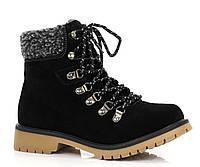 Женские ботинки натур.кожа