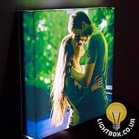 Лайтбокс - 3D светильник с вашим фото. Подарок на день рождения