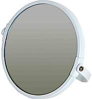 Косметическое зеркало на подставке белое Trento для ванной комнаты