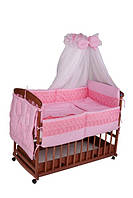 Детское постельное белье Qvatro однотонная (8 эл)