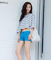 Яркие, женские короткие шорты