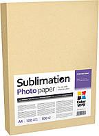 Бумага сублимационная 100г/м2, А4 CW