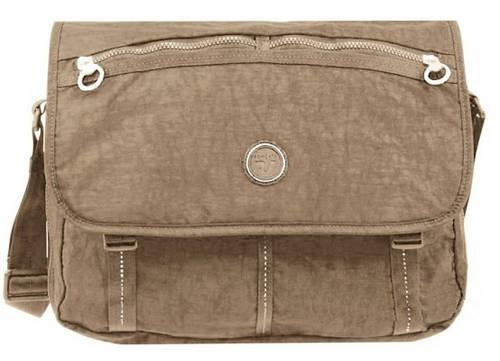 "Бежевая сумка на плечо для планшета I-PAD 10""нейлоновая Roncato Rolling 7110/14"