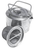 Чайник походный из нержавеющей стали с ситечком для заварки 1.2 л Tramp TRC-066