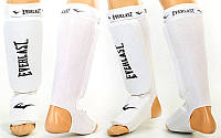 Защита для ног (голень+стопа) для тайского бокса с фиксатором EVERLAST