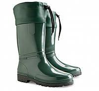 Резиновые сапоги Demar Rainny S зеленый р.36-41 на осень и весну женские и подростковые с кулиской