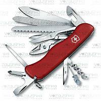 Нож Victorinox WorkChamp 0.9064 красный.