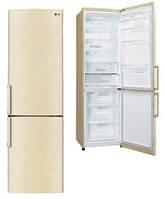 Холодильник LG GA-B489YECZ 2 м/ 360 л/ А++/Total No Frost/ Линейный компрессор/Бежевый
