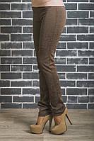 Лосины брюки женские узор беж