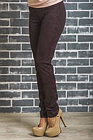 Лосины брюки женские коричневые, фото 1