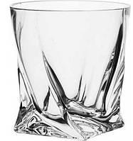Набор стаканов для виски 340 мл 6 шт Bohemia Quadro 2k936/340