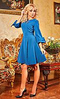 """Женское нарядное платье """"Анджела"""" (морской волны)"""