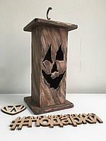 Декоративный подсвечник на Halloween