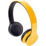 Gemix BH-07 наушники с микрофоном BLUETOOTH беспроводные (yellow)